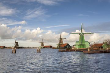 Paisagem típica da Holanda