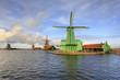 Moinhos de Zannse Schans na Holanda