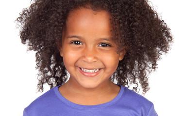 Beautiful african little girl