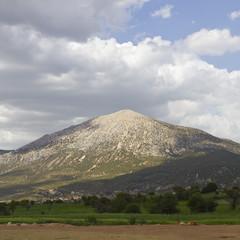 Turkish spring landscape