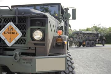 Autocarro militare