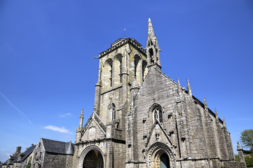 Cathedral of Locronan. France
