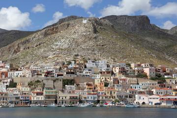 Pothia auf der griechischen Insel Kalymnos
