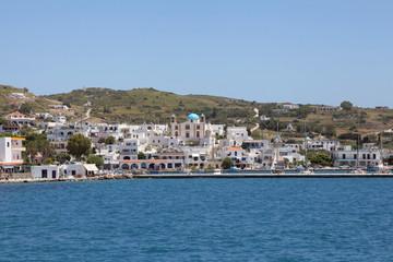 Hafen der griechischen Insel Lipsi