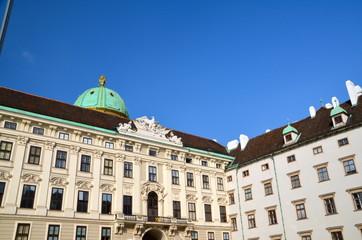 Hofburg palace, courtyard, Vienna