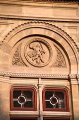 Detail of Vienna 's State Opera House, Austria