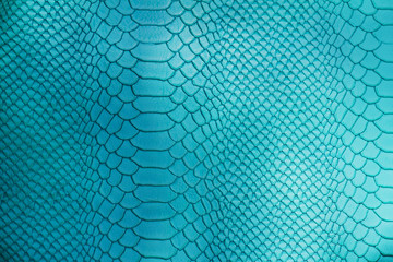 Fake python leather texture