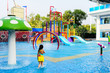 Small water park playground. - 65975403