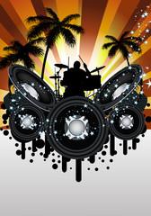 Grunge music srtyle