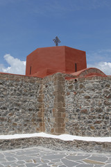 Kirche in Asklipion auf der Insel Rhodos