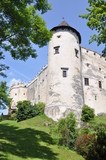 Tower of the castle Niedzica in Poland