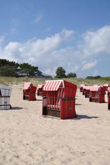 Strandkorb hochformat