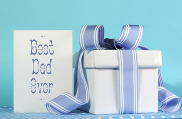 Happy Fathers Day, Best Dad Ever, card and gift