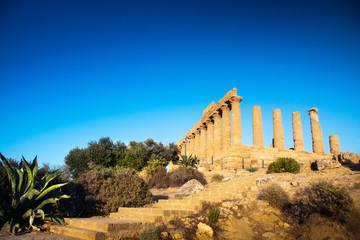 Juno Temple Ruins in Agrigento, Sicily, Italy