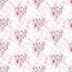 Abstract seamless cute colorful background