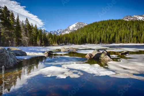 Bear Lake at the Rocky Mountain National Park © Nataliya Hora