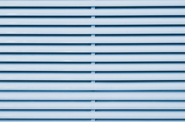 light blue plastic louver of mobile air-conditioner