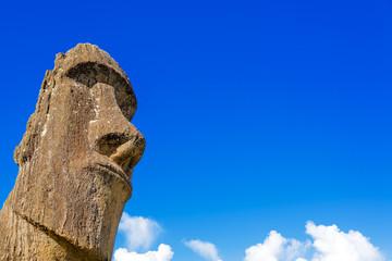 Moai and Blue Sky