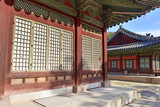 Traditional Architecture, Changyeonggung Palace in Seoul, Korea