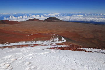 Mauna Kea Summit, Big Island of Hawaii, USA