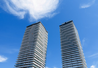 Newly Constructed Condo Towers