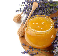 Honey with lavender