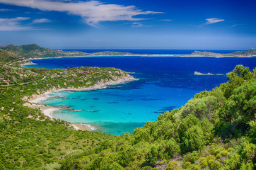 South coast of Sardinia Island, Italy
