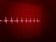 Abstract heart beats cardiogram. EPS 10