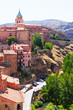Summer view of Albarracin