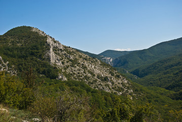 Big Crimean canyon