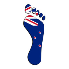 New Zealand footprint