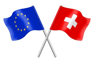Flags : Europe and Switzerland