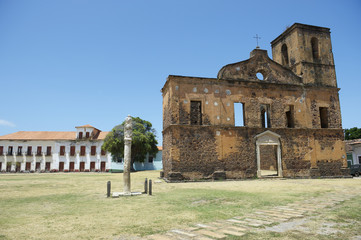 Alcantara Brazil Colonial Ruins of Sao Matias Church