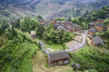 Longsheng Village, Guangxi, China