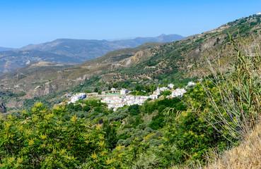 Pitres Village Alpujarras, Granada Province, Andalusia, Spain