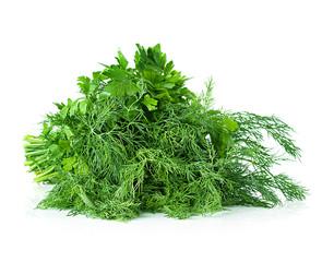 parsley, dill, bunch