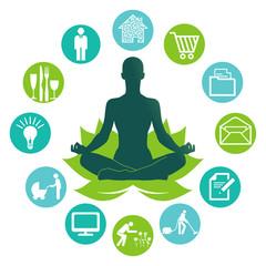 Entspannung durch Yoga