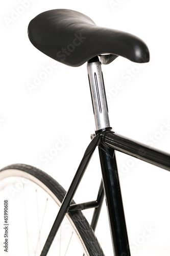Papiers peints Cyclisme Bicycle isolated on white background