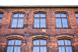 Old tenement house wall poster