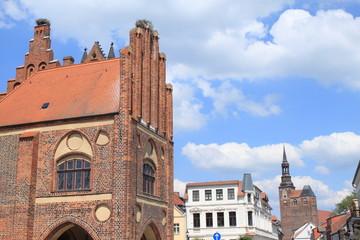 Rathaus am Tangermünder Marktplatz