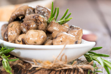 Tapas (Mushrooms)