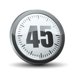 45 Minutes Timer