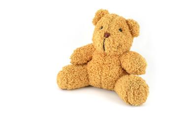 Teddy-bear isolated