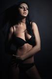 Beauty Woman in Lingerie.Beautiful Girl in Underwear.Sexy Body
