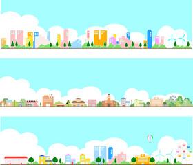 街の風景 セット