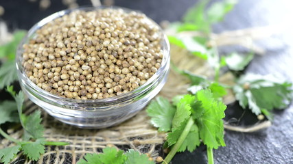 Coriander Seeds (not loopable)