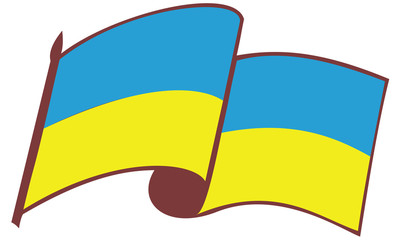 flag of the Ukraine