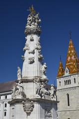 Colonna della Trinità, Budapest. 3