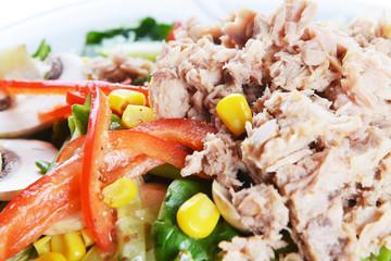 fresh chopped tuna salad