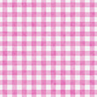 Bright Pink Gingham Pattern Repeat Background